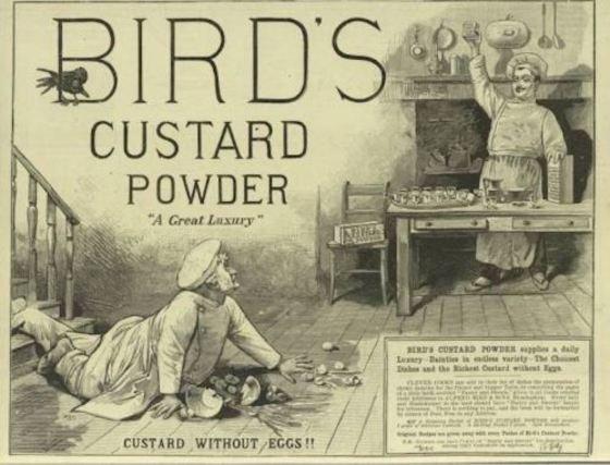 anuncio de natillas en polvo