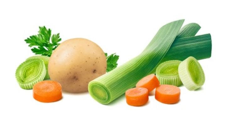 Porrusalda vegetariana