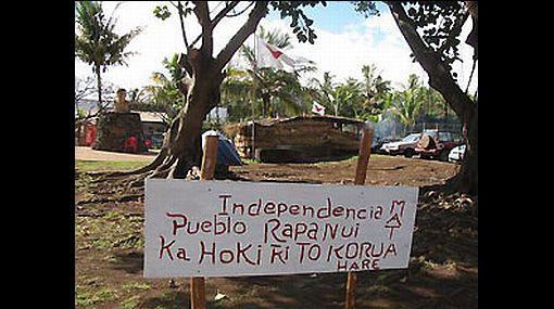 Batalla campal en la Isla de Pascua