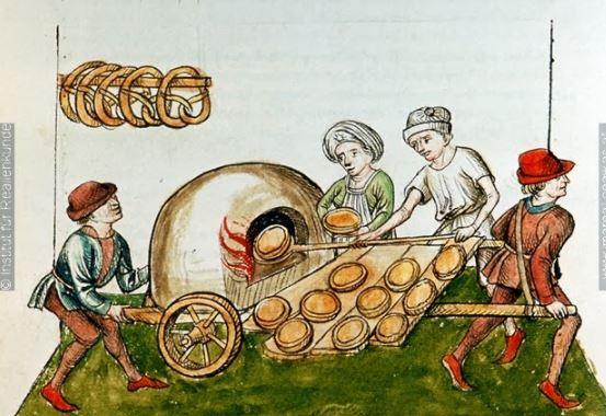 cocina en la Edad Media