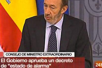 El Estado de Alarma en España fuerza a los controladores a trabajar y AENA abre expediente contra la quinta parte del colectivo