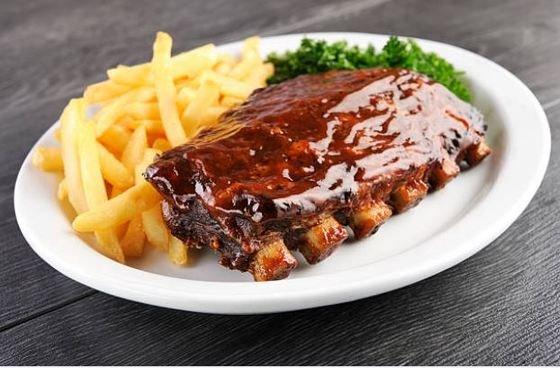 carne con salsa barbacoa