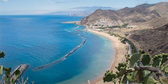 Sta Cruz De Tenerife, Playa, Paisaje, Mar, Vacaciones