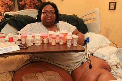 Terri Smith, la mujer más gorda del mundo