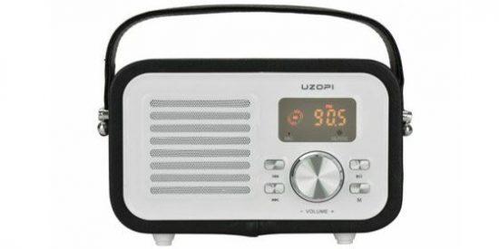 Altavoz Bluetooth con Radio FM Portátil UZOPI