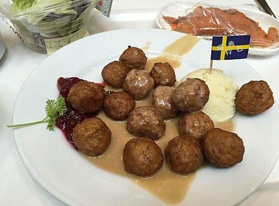 albondigas suecas