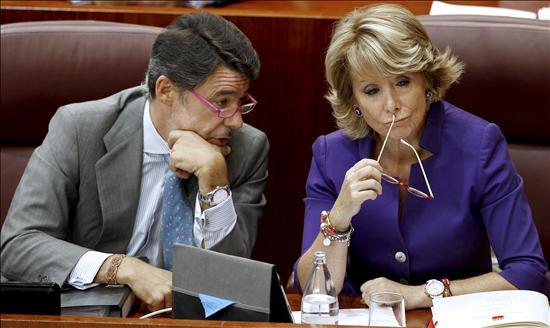 """Aguirre da """"plenos poderes"""" a su número dos, Ignacio González"""