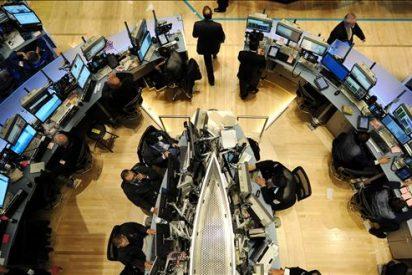 Wall Street sube más del 1 por ciento en el ecuador de primera sesión bursátil de 2011