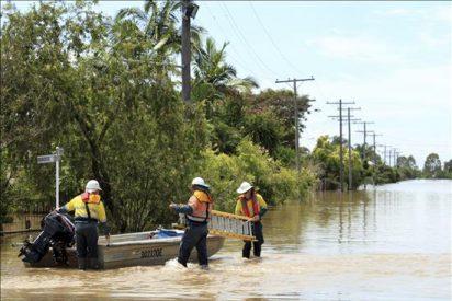 Las inundaciones se extienden a más zonas del noreste de Australia