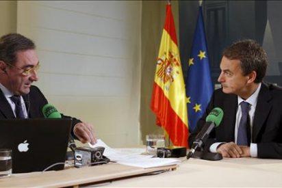 Zapatero valora que el paro mejore en diciembre pese a la subida anual