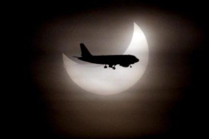 Las nubes impiden contemplar el eclipse parcial de sol desde Madrid