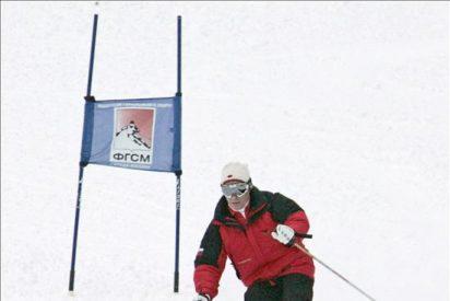 Bautizan Vladímir Putin a una montaña en Kirguizistán
