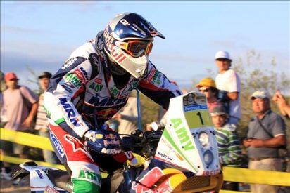 Marc Coma gana la tercera etapa del Dakar 2011 y se acerca al líder Despres