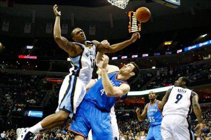 110-105. Ante los Thunder, Randolph ganó el duelo a Durant y los Grizzlies se imponen