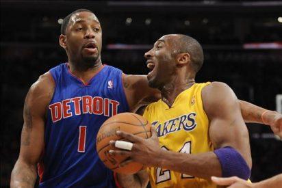 108-83. Bryant se hizo compañero y Gasol lideró el ataque de los Lakers