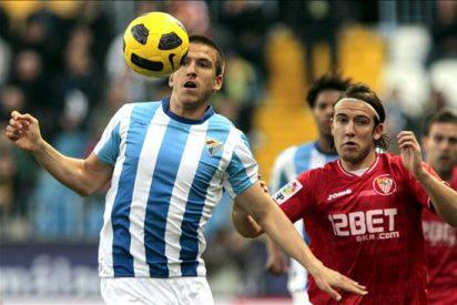 0-3. El Sevilla sentencia al Málaga y se mete en cuartos de final de la Copa del Rey