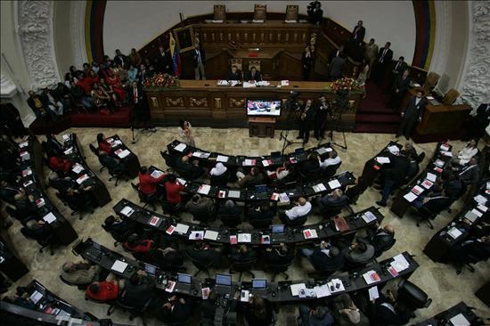 La Asamblea de Venezuela recupera la oposición y la tensión dialéctica