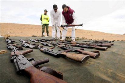 La supuesta red terrorista de Marruecos escondía un importante arsenal en el desierto del Sahara