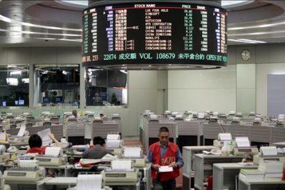 El índice Hang Seng gana 103,40 puntos, 0,44 por ciento, hasta 23.861,22 puntos