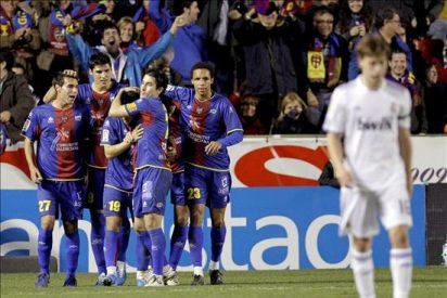 2-0. El Levante inflige la segunda derrota de la temporada al Real Madrid