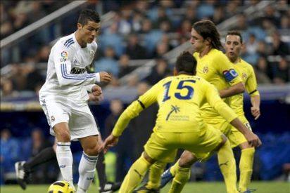 4-2. Cristiano rescata al Real Madrid en un duelo espectacular ante el Villarreal