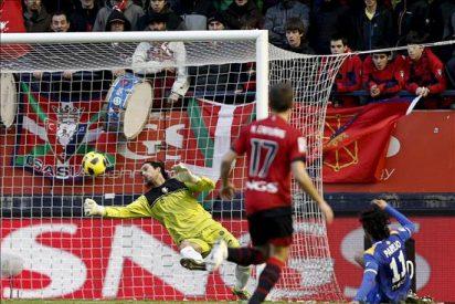 0-0. Ricardo salva un punto para Osasuna en un partido sin definición