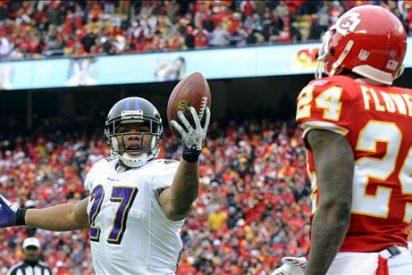 7-30. Flacco y los Ravens arrollan a los Chiefs y piensan en los Steelers