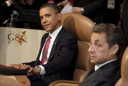 Sarkozy abordará con Obama el replanteamiento del sistema monetario