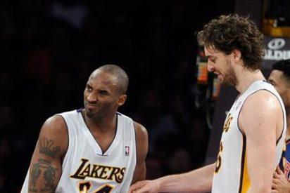 109-87. Bryant y Gasol devuelven la normalidad de triunfo a los Lakers