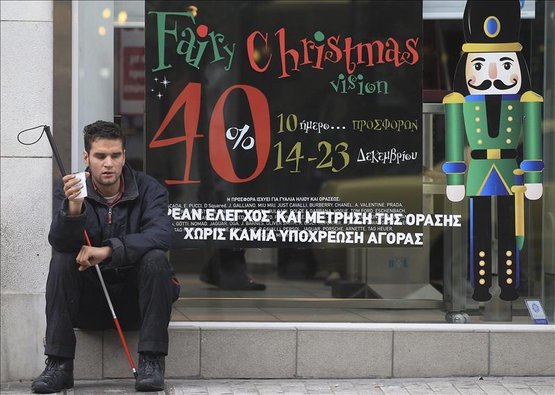 Grecia coloca deuda a seis meses al 4,9 por ciento de interés