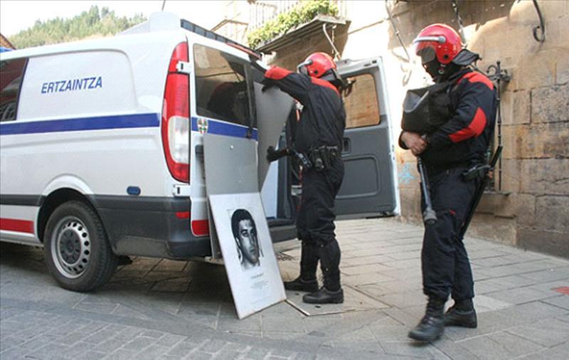 La Ertzaintza no se plantea reducir la seguridad por el alto el fuego