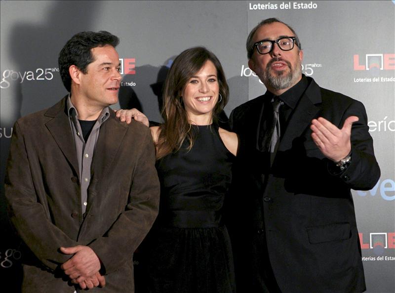Las películas de Álex de la Iglesia, Villaronga e Iciar Bollaín, favoritas a los premios Goya