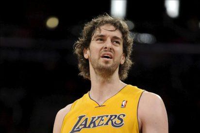 112-57. Los Lakers ridiculizan a los Cavaliers; Gasol logró un doble-doble