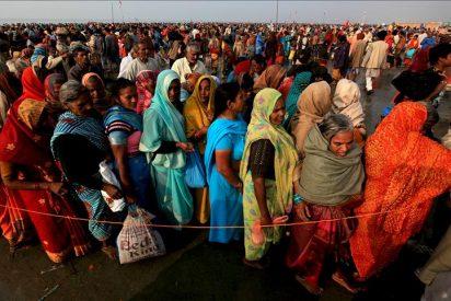 Al menos 50 peregrinos muertos en una estampida en el sur de la India