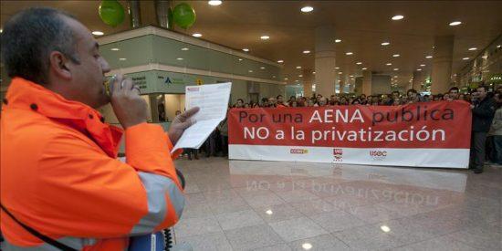 Sindicatos y AENA alcanzan un principio de acuerdo que se rubricará el lunes
