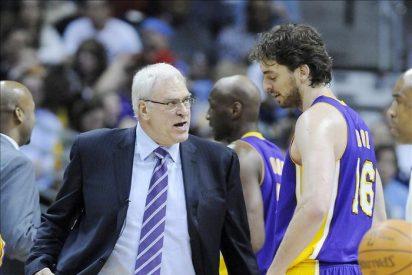 97-107. Gasol encabezó el poder de los hombres altos de los Lakers