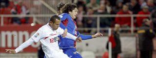 4-1. Luis Fabiano devuelve la alegría al Sevilla y hunde más al Levante