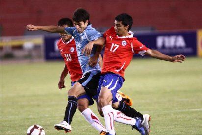 0-4. Uruguay golea y vuelve a la vida en el Sudamericano Sub'20