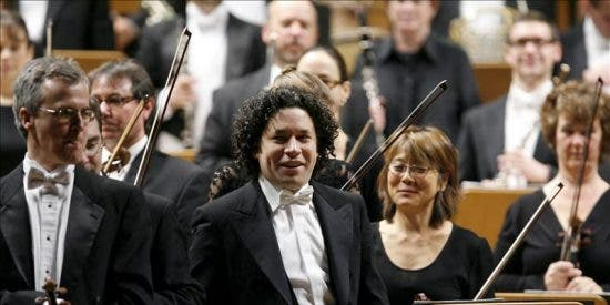Dudamel deja atónito al Auditorio Nacional con la Novena de Mahler