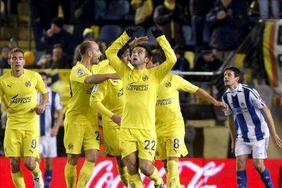 2-1. Rossi mantiene tercero al Villarreal con los dos goles de la remontada ante la Real