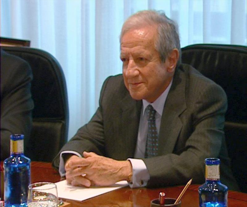 El Rey con Pascual Sala, nuevo presidente del Tribunal Constitucional