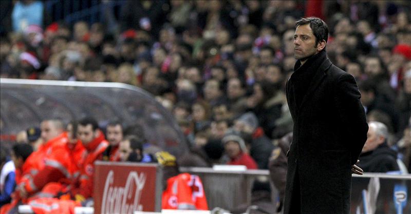 Gil Marín garantiza la continuidad de Quique hasta final de temporada