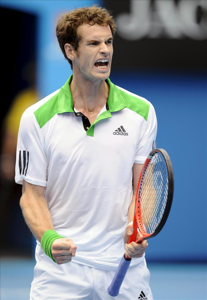 Murray pone a Dolgoporov en su sitio para alcanzar las semifinales del Abierto de Australia