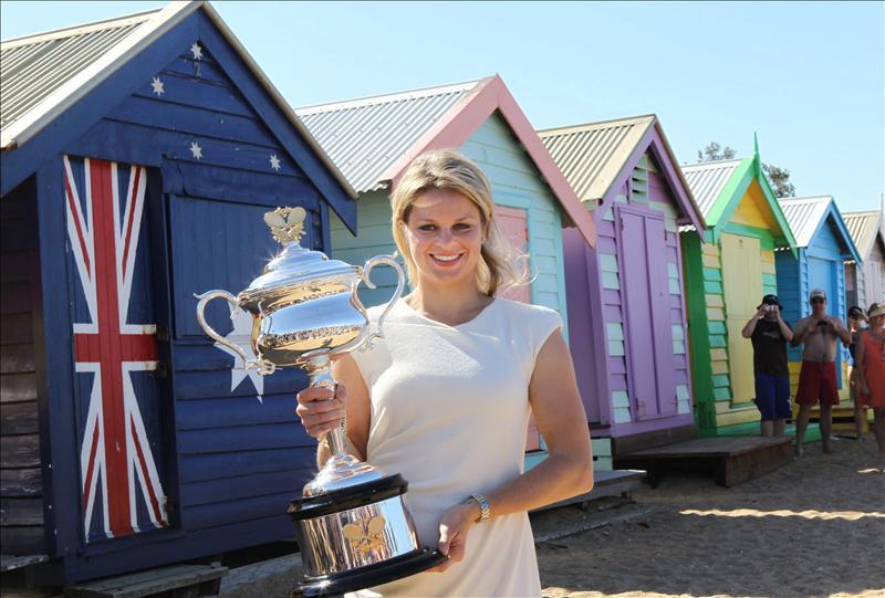 Clijsters se sitúa segunda tras ganar en Australia