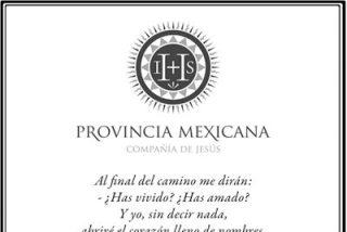 Esquela de los jesuitas mexicanos tras la muerte de Samuel Ruiz