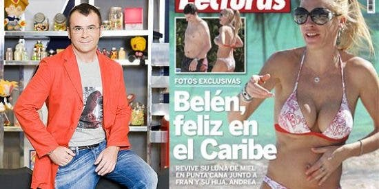 J.J. Vázquez aprovecha las vacaciones de Belén Esteban para criticarla e insinuar que está embarazada