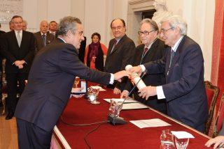 Fundación Mapfre recibe la Medalla de Honor 2010 de la Real Academia de Bellas Artes de San Fernando