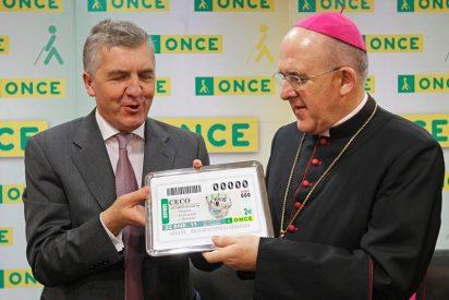 "Osoro agradece el ""humanismo pleno e integral"" de la ONCE"
