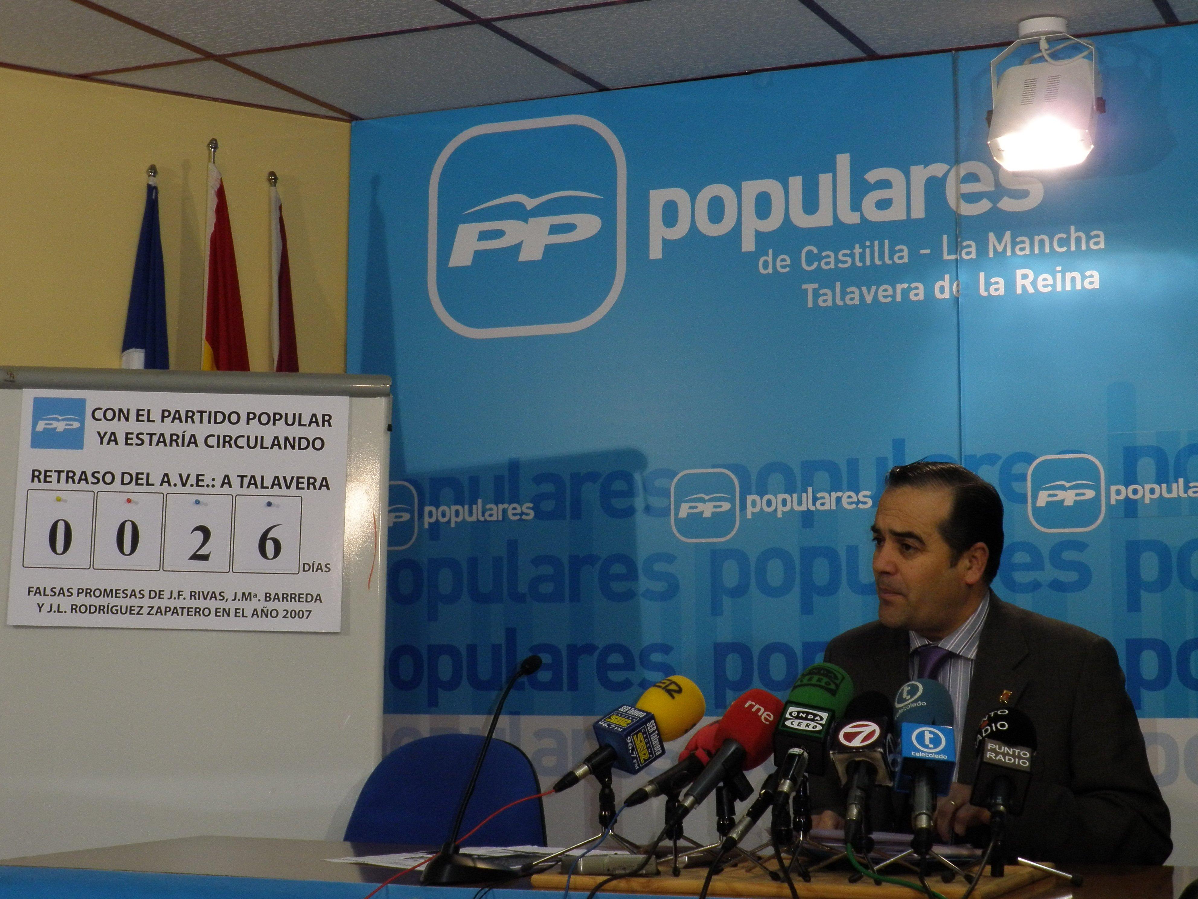 El PP de Talavera desentierra las promesas incumplidas del PSOE en su programa electoral de 2007