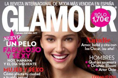 Glamour Febrero, Natalie Portman: Amor, Bebé y cita con los Oscar